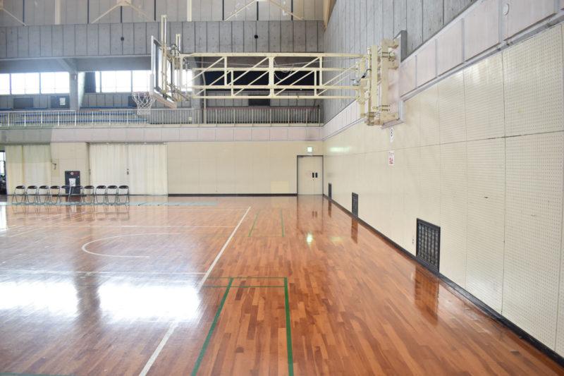 栗東市民体育館のエンド