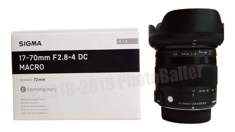 17-70mm F2.8-4 DC MACRO OS HSM