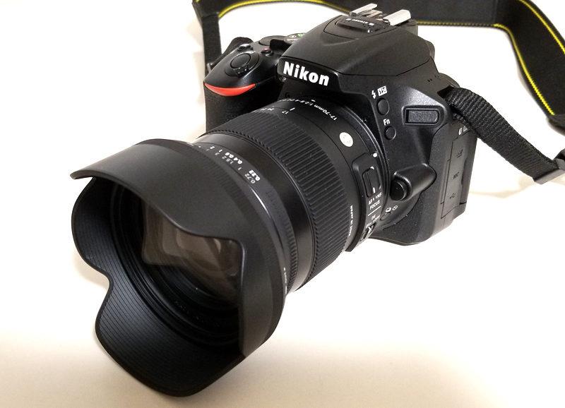 D5600装着画像